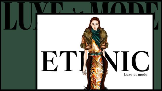 ファッションテイスト8分類 エスニック